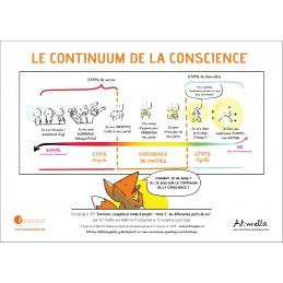 """Affiche """"Continuum de la conscience"""""""