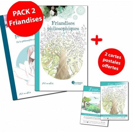 Pack 2 Friandises + cartes postales offertes